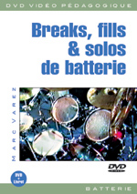 Breaks, fills et solos de batterie